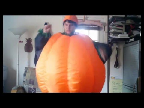 My New Inflatable Pumpkin Costume