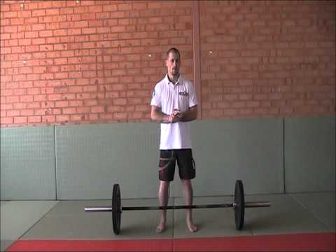 Deadlifts for Judo - Strength Training for Judo Image 1