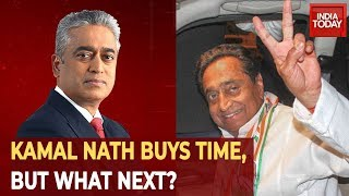 Kamal Nath Buys Time, But Can He Save An Imminent Collapse? Decoding MP Crisis With Rajdeep Sardesai
