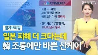 """[월가브리핑] 피치 """"수출규제, 일본 피해 더 커질 것""""…산케이 """"한국, 美에 울며 매달려"""" / 한국경제TV"""