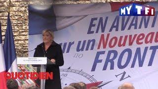 Rentrée politique : Marine Le Pen peut-elle faire front - Quotidien du 11 septembre