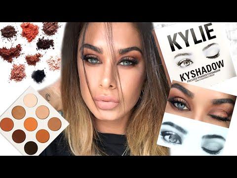 Kyshadow Bronze palette - First impression & tutorial!