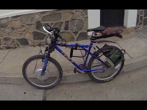 Como Hacer Electrica Una Bicicleta en Una Bicicleta Electrica