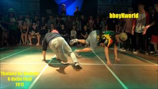 Thailand Vs. Vietnam 2012 K-Battle Full Final