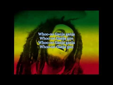 Bob Marley - Ganja Gun with Lyrics - Awesome