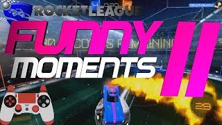 ROCKET LEAGUE FUNNY MOMENTS 11 😆 (FUNNY REACTIONS, FAILS & WINS BY COMMUNITY & PROS!)