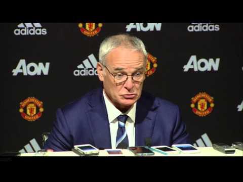 Louis van Gaal & Claudio Ranieri on Man United 1 - Leicester 1