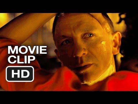 Skyfall Blu-ray Clip - Close Shave (2012) - James Bond Movie Hd video