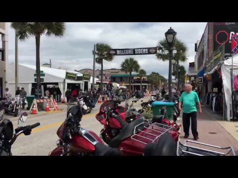Daytona Bike Week 2016 (4K)