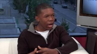 Denzel Whitaker: Abduction Interview