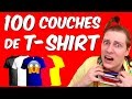 100 COUCHES DE T-SHIRTS - NADEGE CANDLE