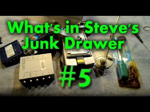 What's in Steve's Junk Drawer #5