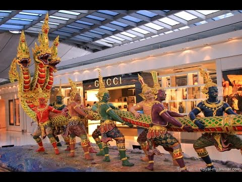 Timelapse of Suvarnabhumi airport HD by iOS8