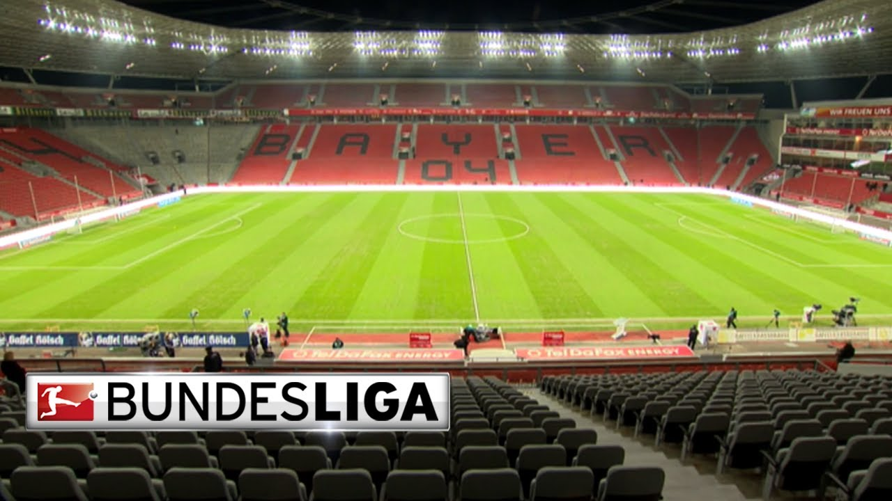 my stadium bay arena bayer leverkusen youtube. Black Bedroom Furniture Sets. Home Design Ideas
