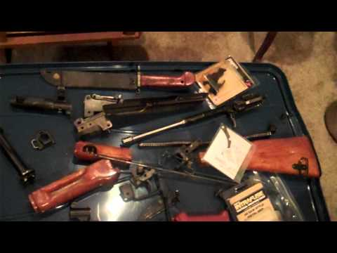 Royal Tiger Imports Bulgarian Ak 74 Parts Kit Review video