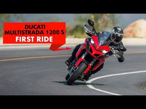 Ducati Multistrada 1200 S : First Ride : PowerDrift