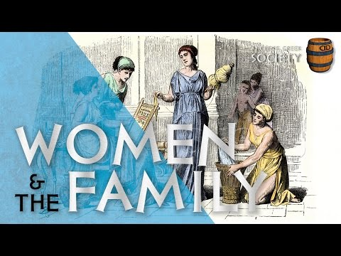 women in ancient greece Textile production played a large part in the lives of ancient greek women, to the point of helping to both define and subvert the ancient greek.