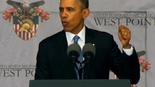 (Obama)  US Must Lead Globally but Show Restraint  5/28/14