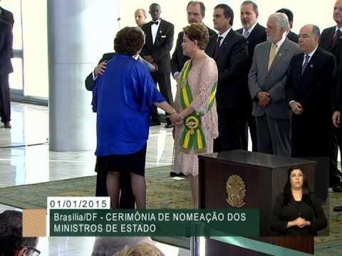 Dilma Rousseff empossa 39 ministros para o segundo mandato