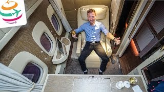 Emirates NEUE First Class Suiten, der Game Changer | GlobalTraveler.TV
