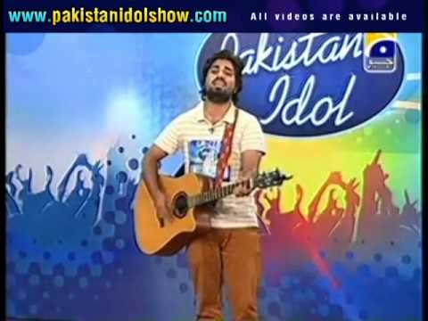Pakistan Idol Audition - Zamad Baig Yeh Jo Halka Halka Suroor Hai video