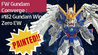 FW Gundam Converge Painted Series - Gundam Wing Zero custom EW