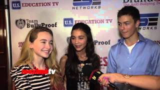 Girl Meets World | NEW TV SHOW | Sabrina Carpenter, Rowan Blanchard, Peyton Meyer INTERVIEW