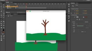 Animate a Tree Growing Frame By Frame Tutorial
