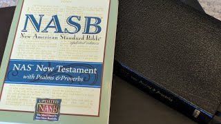 NASB New Testament With Psalms and Proverbs Fast Review