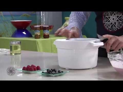 Choumicha : Glace de yaourt aux fruits rouges / شميشة : مثلجات الياغورت بالفواكه الحمراء