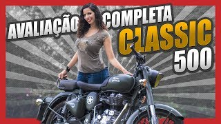 TESTE COMPLETO ROYAL ENFIELD CLASSIC 500 - REVIEW BATTLE GREEN | MotoPLAY