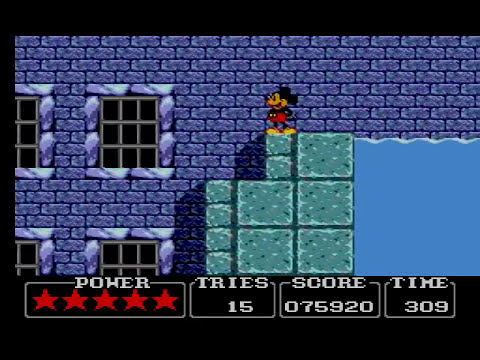 Master System Longplay Castle of Illusion starring Mickey Mouse