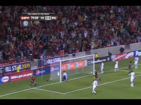 New York Red Bulls at Real Salt Lake - Game Highlights 10/14/09 Video