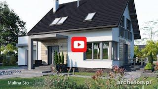 Projekty domów od 130 do 150 m2