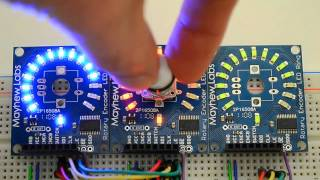 Rotary Encoder LED Ring Overview