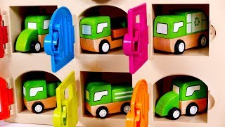 Learn Colors with Vehicles for Children | Learn with Yippee Toys