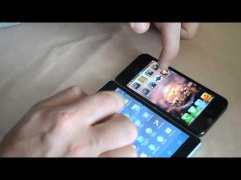 Обзор Sony Xperia ZR vs Apple IPhone 5