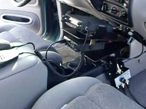 Ham Radio Install in Ford Explorer