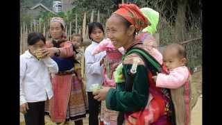 Hmong People, Lao Cai, Vietnam