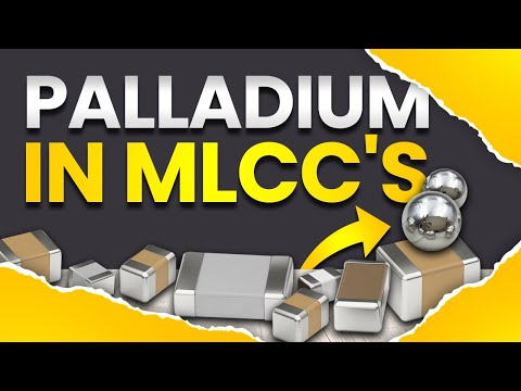 Electronic scrap metals -  Palladium recovery from Monolithic Ceramic Capacirors