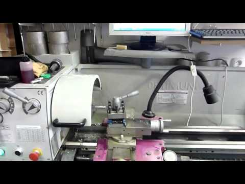 Optimum Lathe. CNC Conversion. Mach3