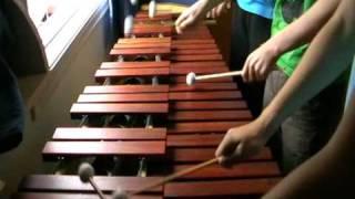 Zelda Ocarina of Time - Gerudo Valley on Marimba