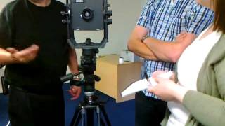 large format view camera lesson