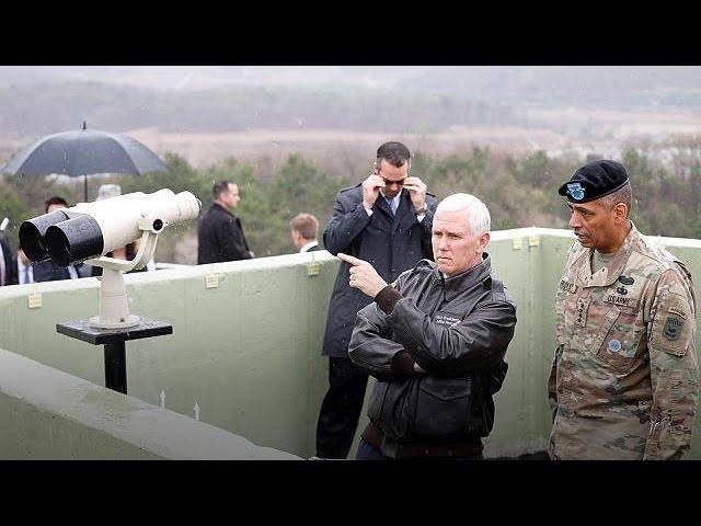 "North Korea: ""era of strategic patience is over"" says US VP Pence"