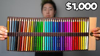 I Bought The World's Most Expensive Colored Pencils | ZHC