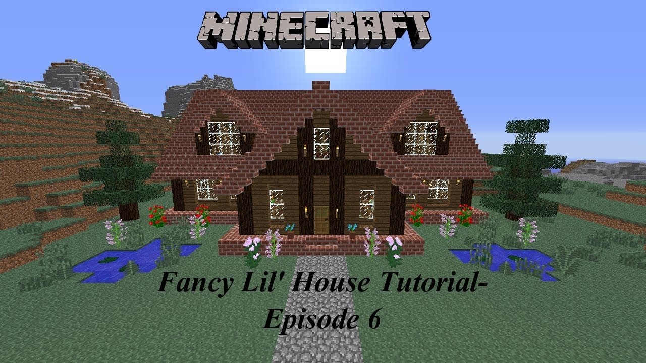 Minecraft building a fancy lil 39 house with krysta episode 6 youtube - Fancy houses ...