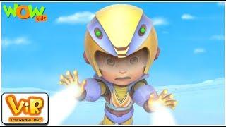 Vir Vs Yeti - Vir: The Robot Boy - Kid's animation cartoon series