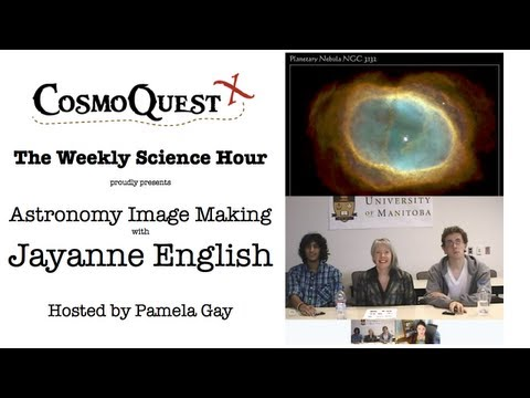 Weekly Science Hour on Astronomy Image Making