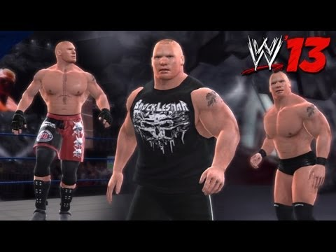 WWE '13 Community Showcase: Brock Lesnar (PlayStation 3)