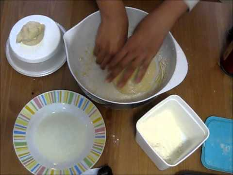 How to make murtabak and roti canai dough
